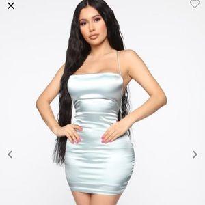 Fashion nova satin mini dress